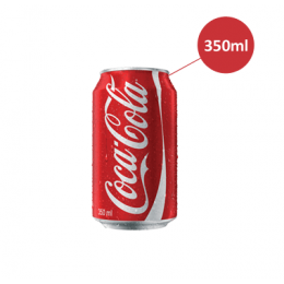 Coca Cola lata 350ml