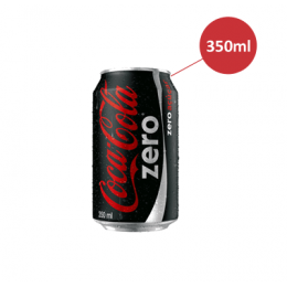 Coca Cola lata 350ml zero
