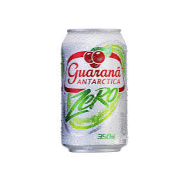 Guaraná Antártica lata 350ml zero